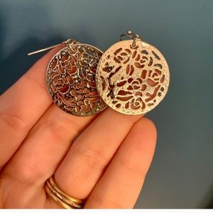 Kendra Scott Silver Medina Earrings